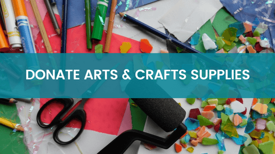 Donate Arts and Crafts Supplies - Pine Ridge Reservation
