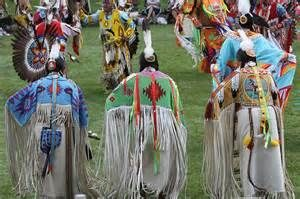 Lakota Grandmothers Performing Traditional Dances